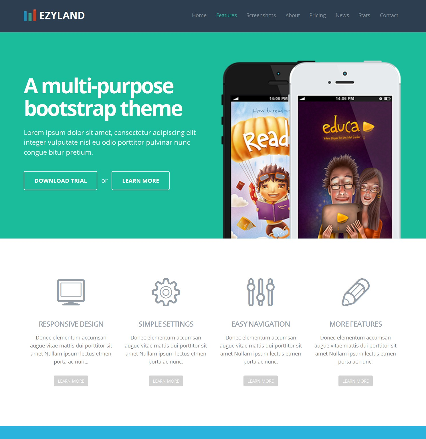 Free Download Bootstrap Website Theme