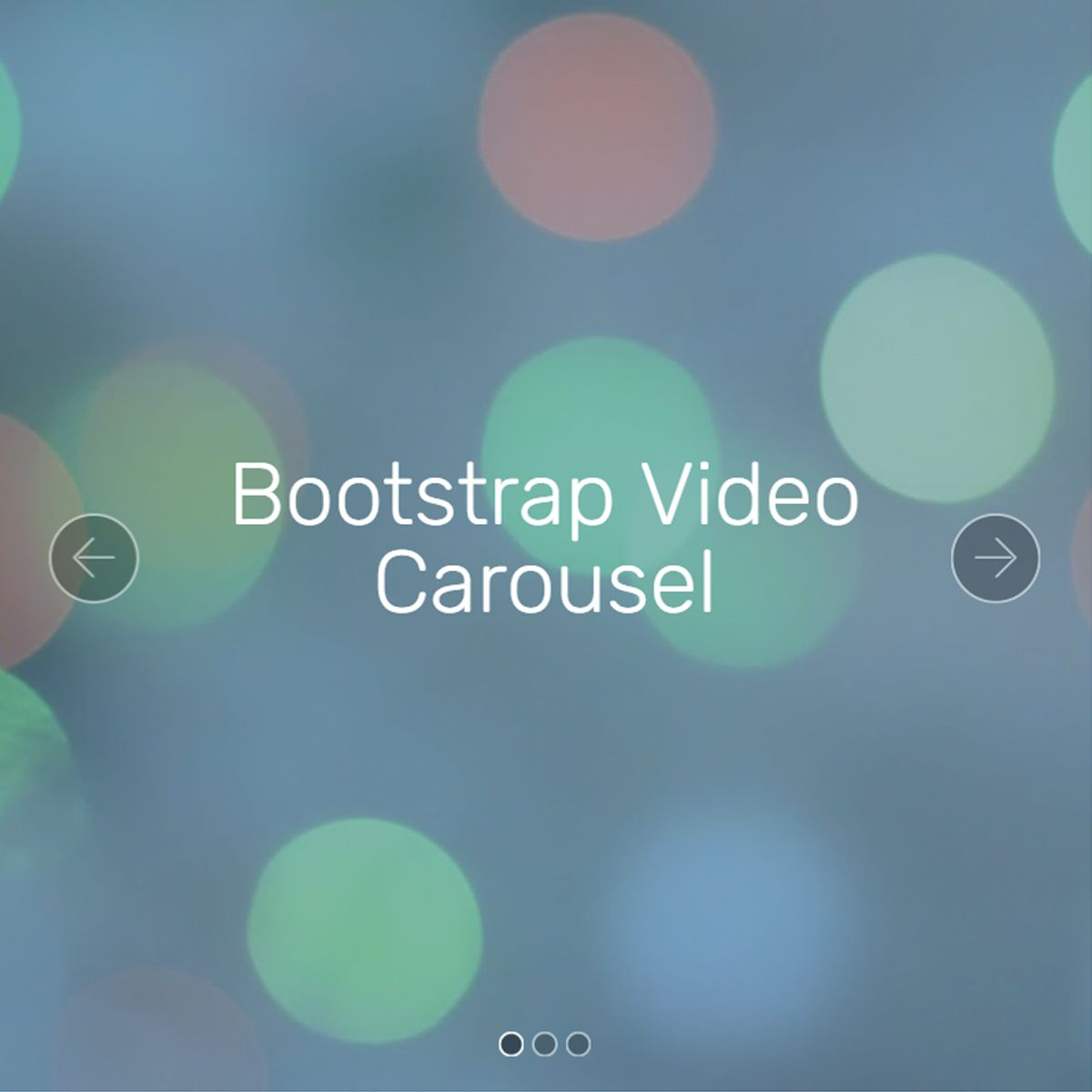 CSS Bootstrap Illustration Slider