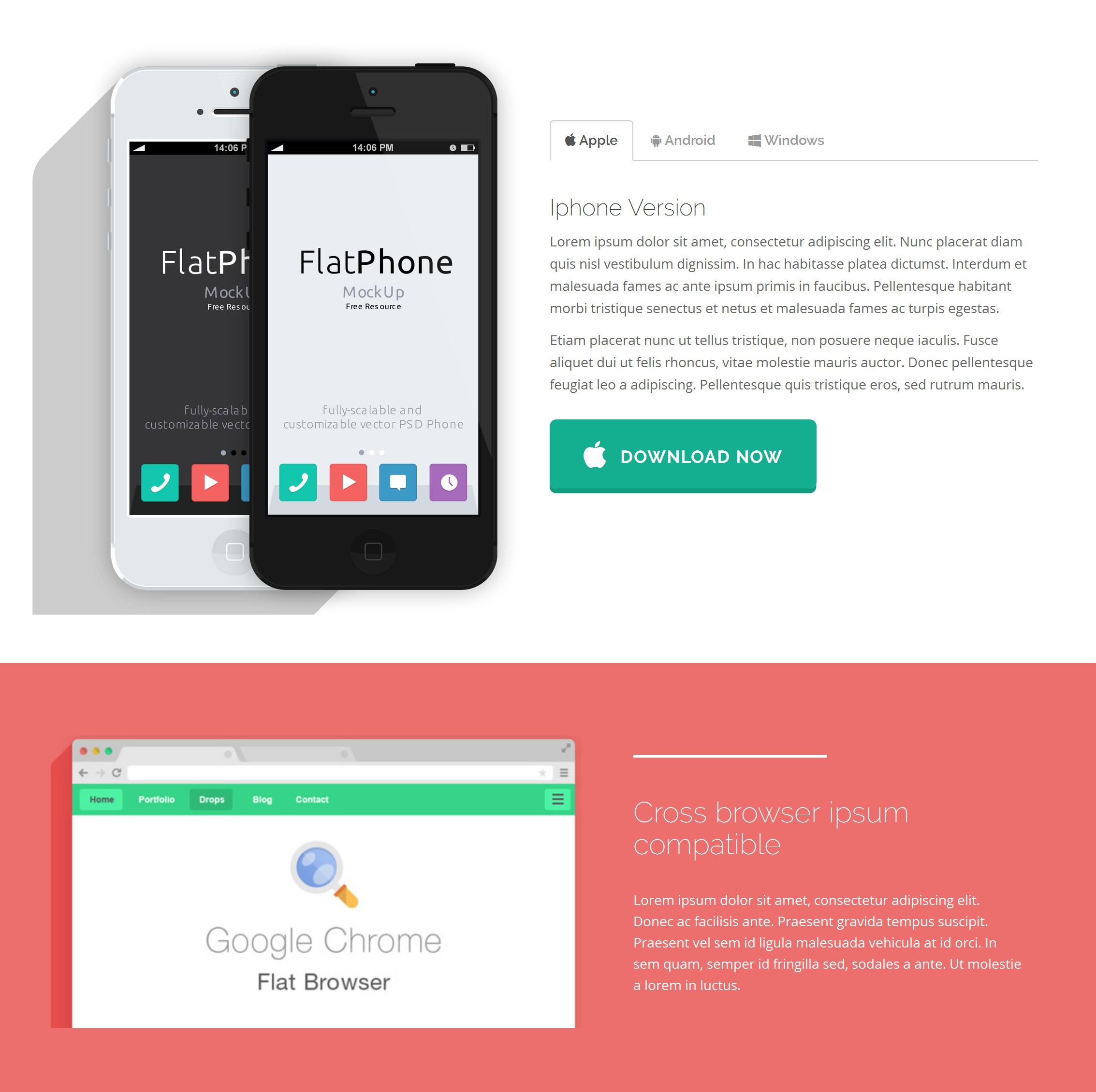 HTML5 Bootstrap Basic Theme