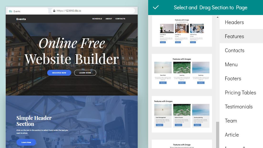 website maker software